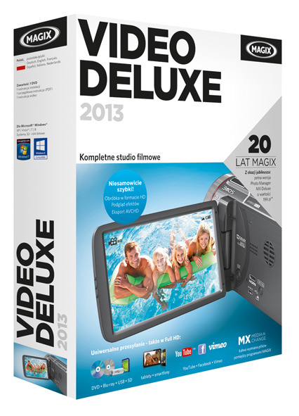 MAGIX Video deluxe 2013 PL packshot (2)