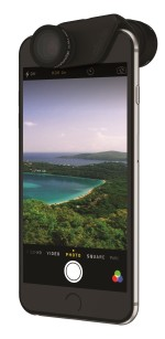 OlloClip Active – zestaw obiektywów telefoto i Ultra-Wide do iPhone 6(s) i 6(s) Plus