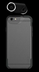 Olloclip Kit – zestaw 4 obiektywów i etui Ollocase do iPhone 6(s)