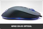 Mysz optyczna QPAD®|DX Pro Gaming