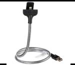 Fuse Chicken Bobine Auto – stalowy kabel Lightning z funkcją uchwytu samochodowego (60cm)