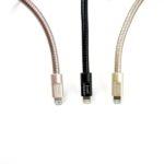 Fuse Chicken Titan Plus – stalowy, dwuwarstwowy kabel Lightning