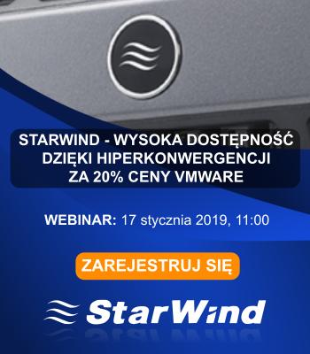 Webinar: StarWind 17.01.2019
