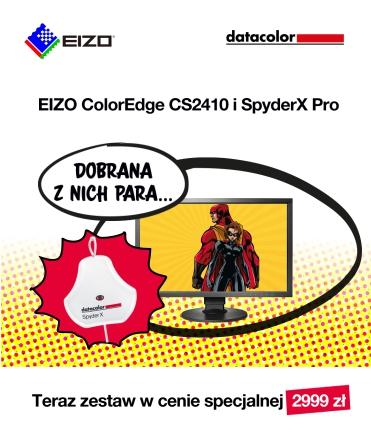 dobrana para EIZO CS2410 i SpyderX